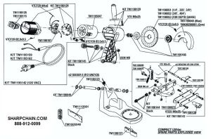 Efco Chainsaw Parts Diagram
